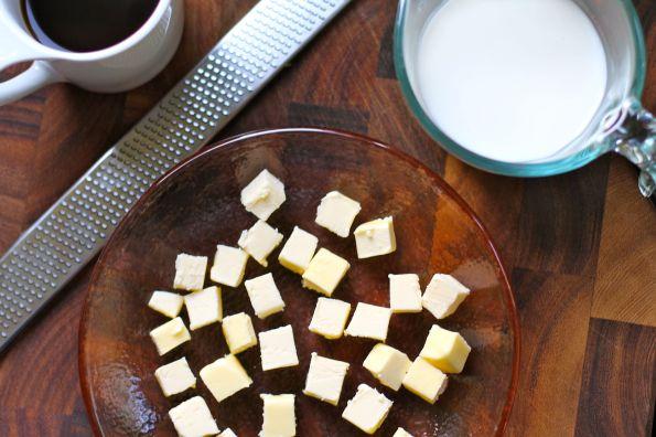 butter chunks