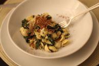 pasta with mustard greens