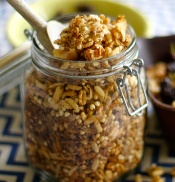 jar of summer granola