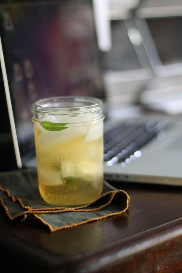 verbena iced tea