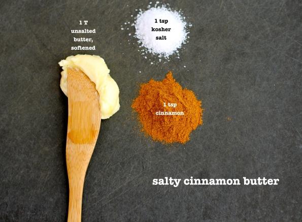 salty cinnamon butter